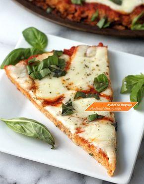 Удивительная куриная пицца без грамма теста   Худеем Вкусно