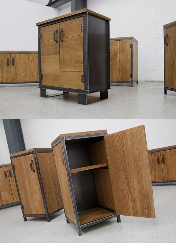 Industrial Storage Sideboards Cabinets By Vintage Industrial