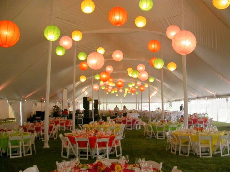 505 best images about wedding tent decorations on for Outdoor tent decorating ideas