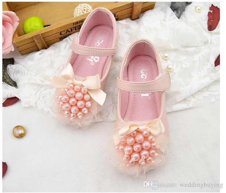 Hot selling princess shoes girls single bud soft-soled shoes 2017 new children's shoes for wedding