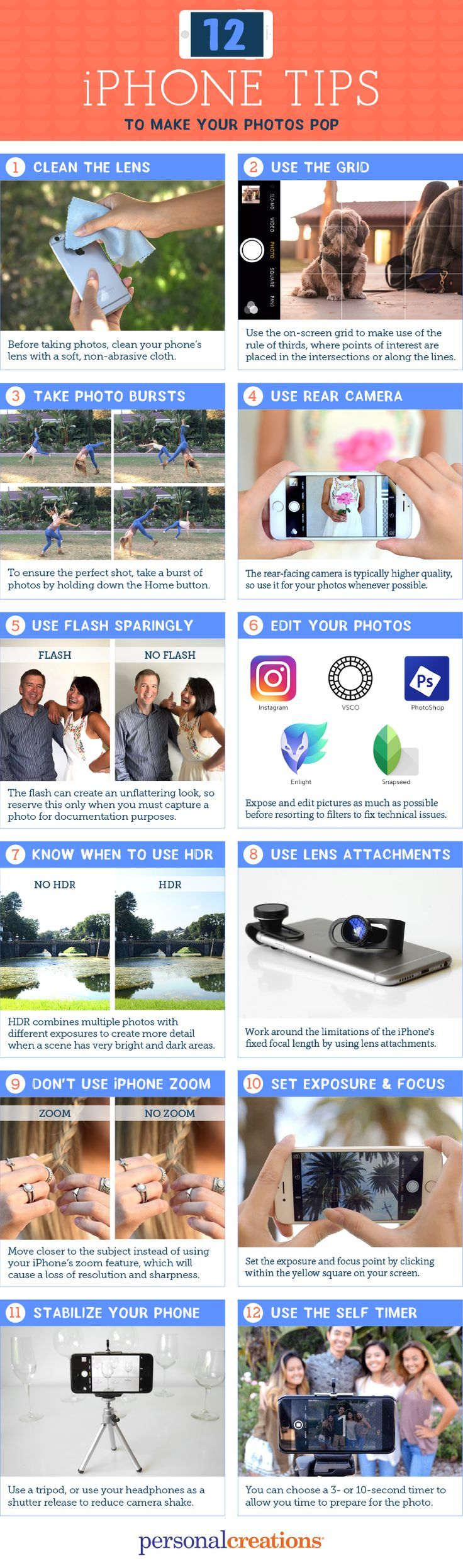 12 iPhone Photography Tips to Make Your Photos Pop - Personal Creations Blog Now YOU Can Create Mind-Blowing Artistic Images With Top Secret Photography Tutorials With Step-By-Step Instructions! http://trick-photo-graphybook-today.blogspot.com?prod=5R4p5kky