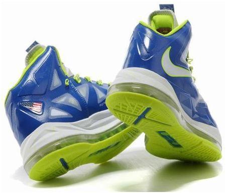 Nike Lebron 10 Blue/Green/White, cheap Nike Lebron If you want to look Nike  Lebron 10 Blue/Green/White, you can view the Nike Lebron categories, ...