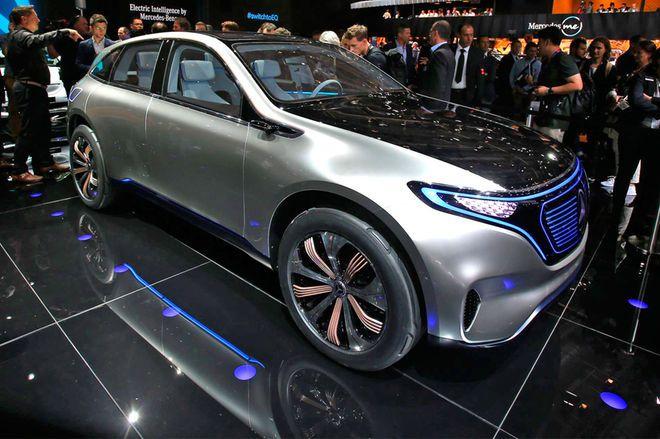 #MercedesBenz #Generation #EQ #concept #Paris #AutoShow #ECO #Electric #Future