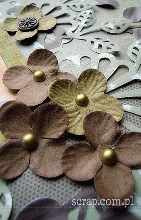 paper flowers   http://sklep.scrap.com.pl/nowe-hortensje-margerytki-zestaw-73-p-9060.html