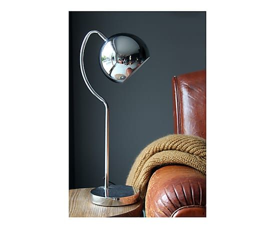 Lampe de bureau SHABBY, chrome - H59