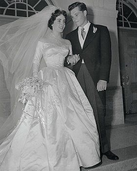 "1950 - Elizabeth Taylor & Husband number 1 - Conrad Nicholson ""Nicky"" Hilton, Jr. was an American socialite, hotel heir, businessman and TWA director."