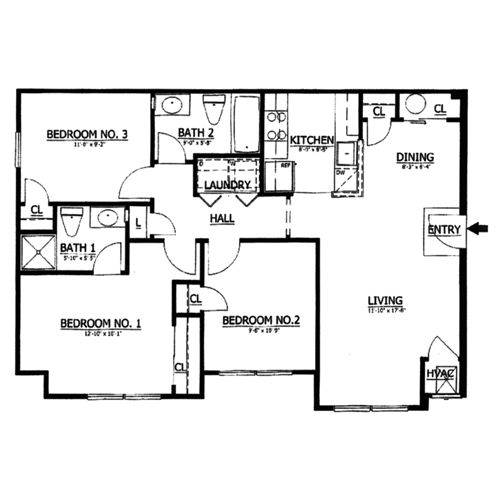 1000 square foot house plans bedroom situated at royal for 1100 square foot home