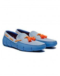 Swims - Tassel Loafer - Blue/Orange