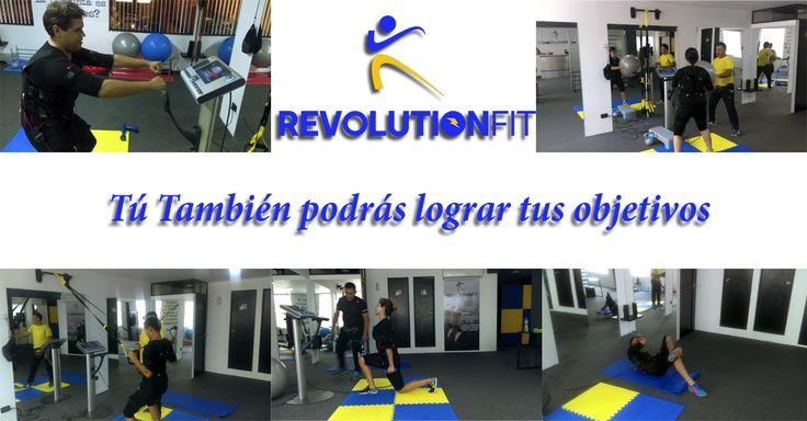 Tú también logra tus objetivos con Revolutionfit 657-1766 / 6571768 / 960091242 te esperamos 😊