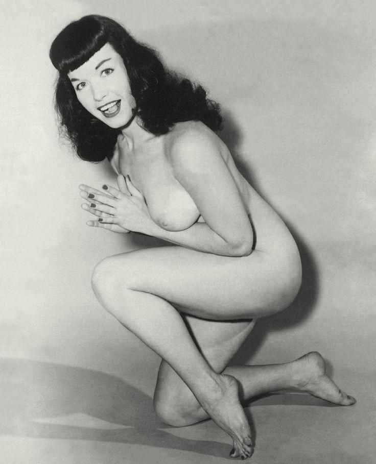 Bettie page nude color