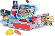 Casdon Supermercado até Caixa Registradora Shop personagem finjo Brinquedo Infantil/presente Bn