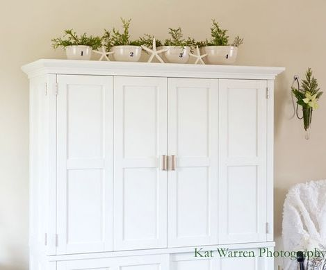Simple Natural Christmas Decorating with Greenery Coastal Style