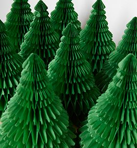 Standing Paper Christmas Tree