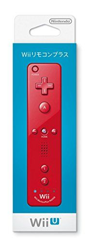 #greatdeal #Nintendo Wii #Remote Plus Controller Red