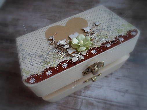 little_birdie / krabička na svadobné obrúčky