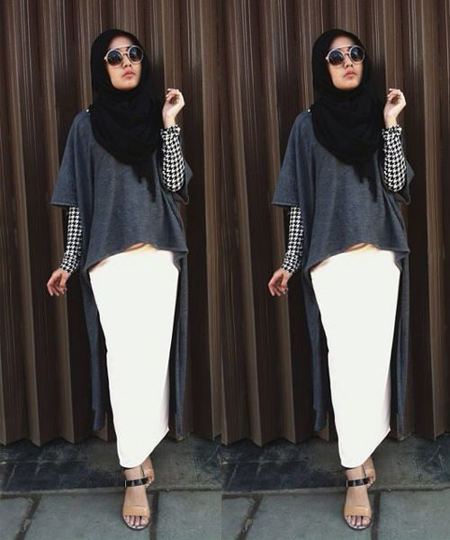 Things You Should Know About Hijab Fashion Black #hijabfashion #hijabstyle #hijab2016