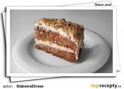 Bezlepkový mrkváček aneb mrkvový dortík recept - TopRecepty.cz