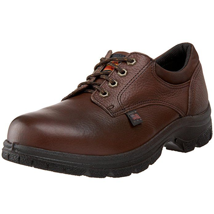 Thorogood American Heritage Oxford Safety Toe Oxford, Root Beer, 8.5 M US
