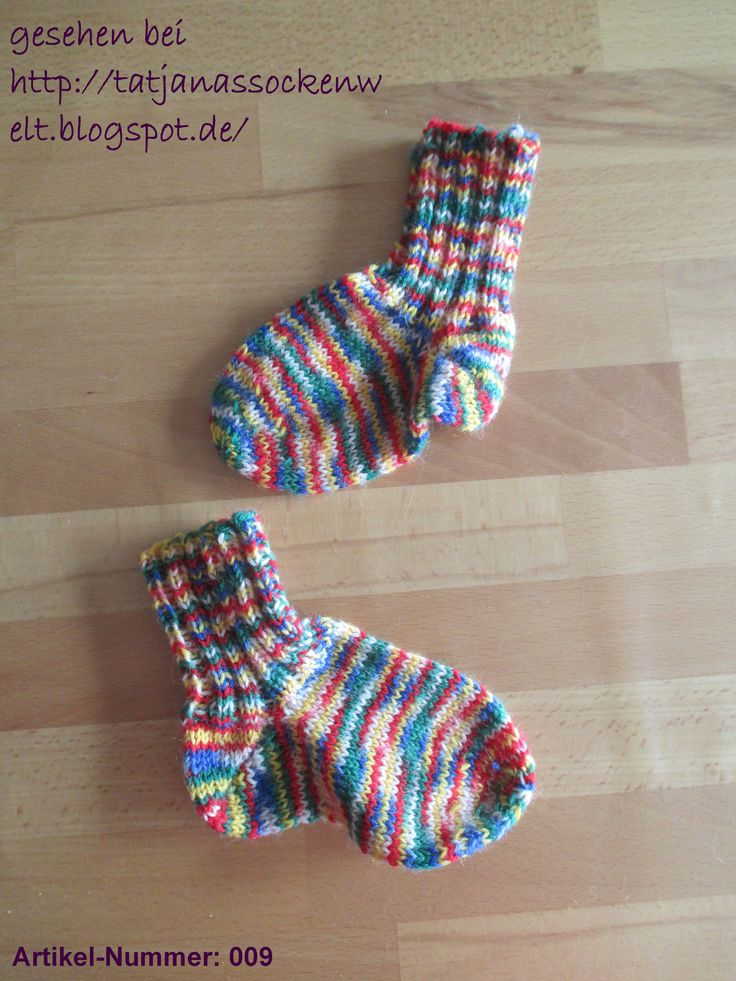 Kleinkind Socken kunterbunt meliert