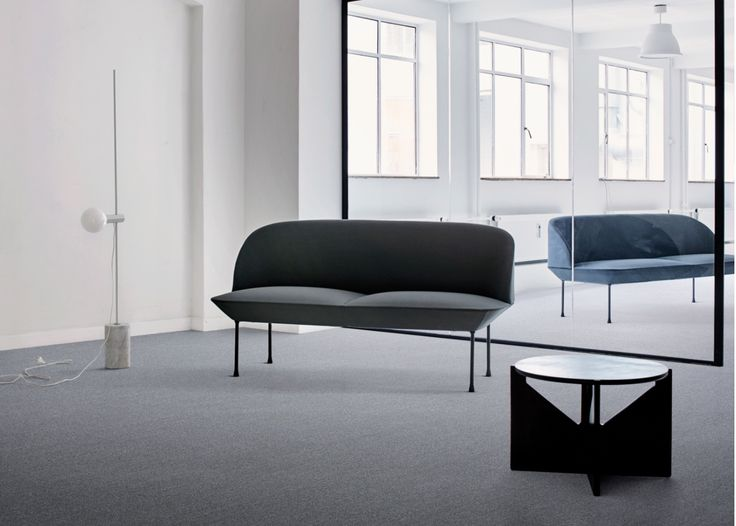 The new Twist & Shine collection by Interface looks like broadloom, but it's actually carpet tile.