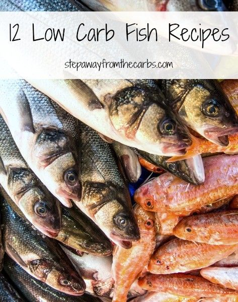 222 best low carb fish and seafood recipes images on pinterest for How many carbs in fish