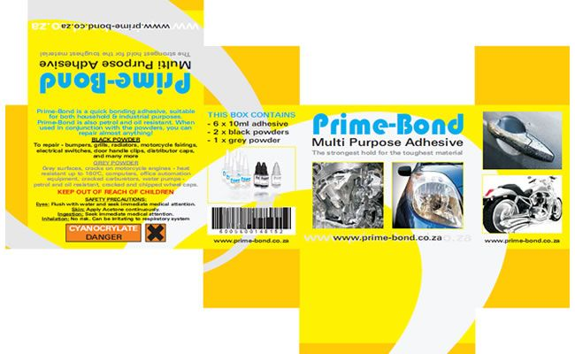 Prime-Bond Packaging Design
