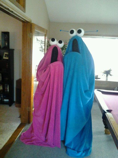 Friend and I's Halloween Costumes.  Whadda think?