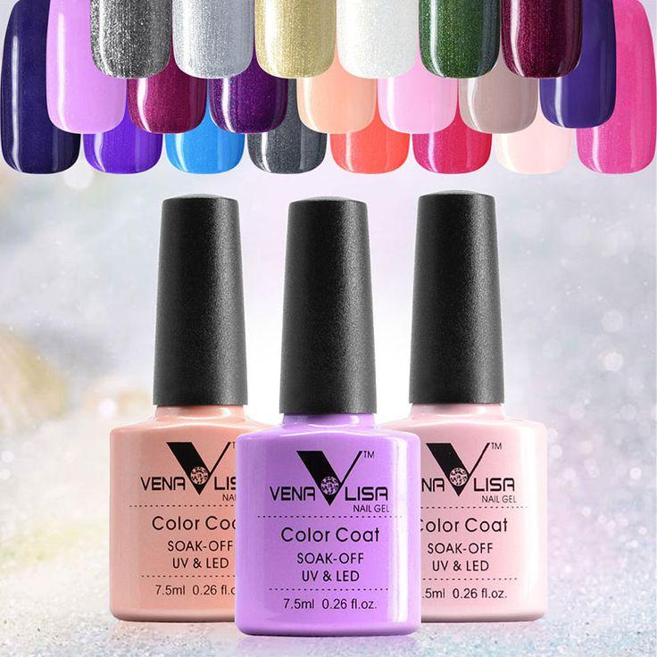 #61508  CANNI Supply Nail Art Design Nail Gel Polish New 7.5ml Soak Off Gel Varnish UV/LED Gel Lacquer