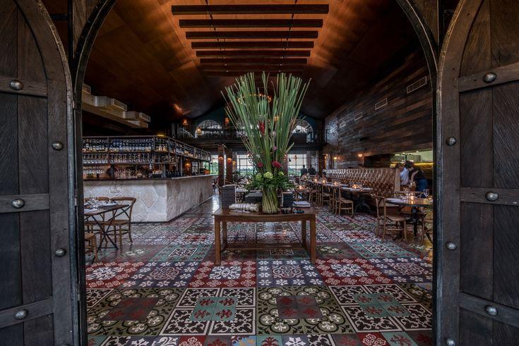 Barbacoa restaurant. Seminyak Bali Indonesia