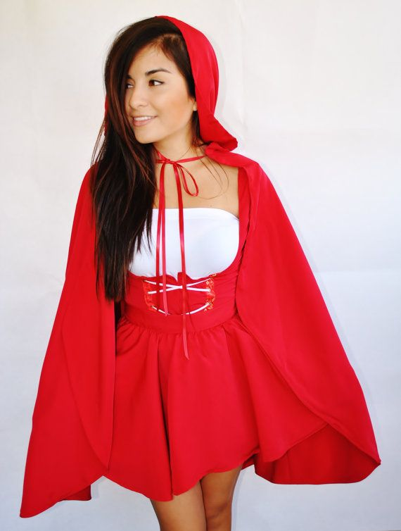 Little Red Riding Hood Adult Costume http://www.etsy.com/listing/164141513/little-red-riding-hood-adult-costume?ref=shop_home_active