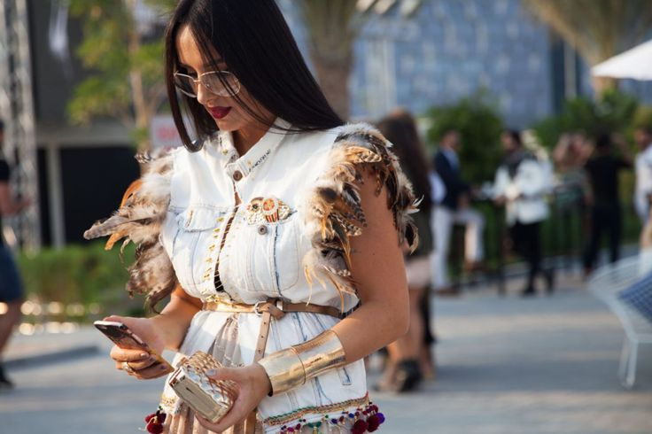 Dubai Fashion Week - Fashion Forward 2016 Street Style