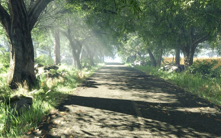 cryengine green roads spring