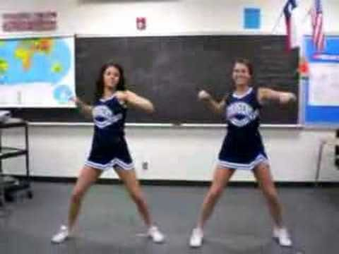 CHS Cheer Tryouts 08 - Dance