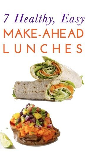 ... , cheap & easy lunch ideas you can make ahead & pack for your day