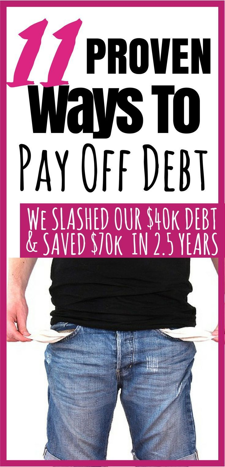 11 Ways to Pay Off Debt Fast