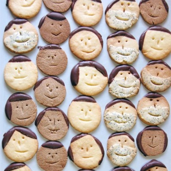 Face Cookie