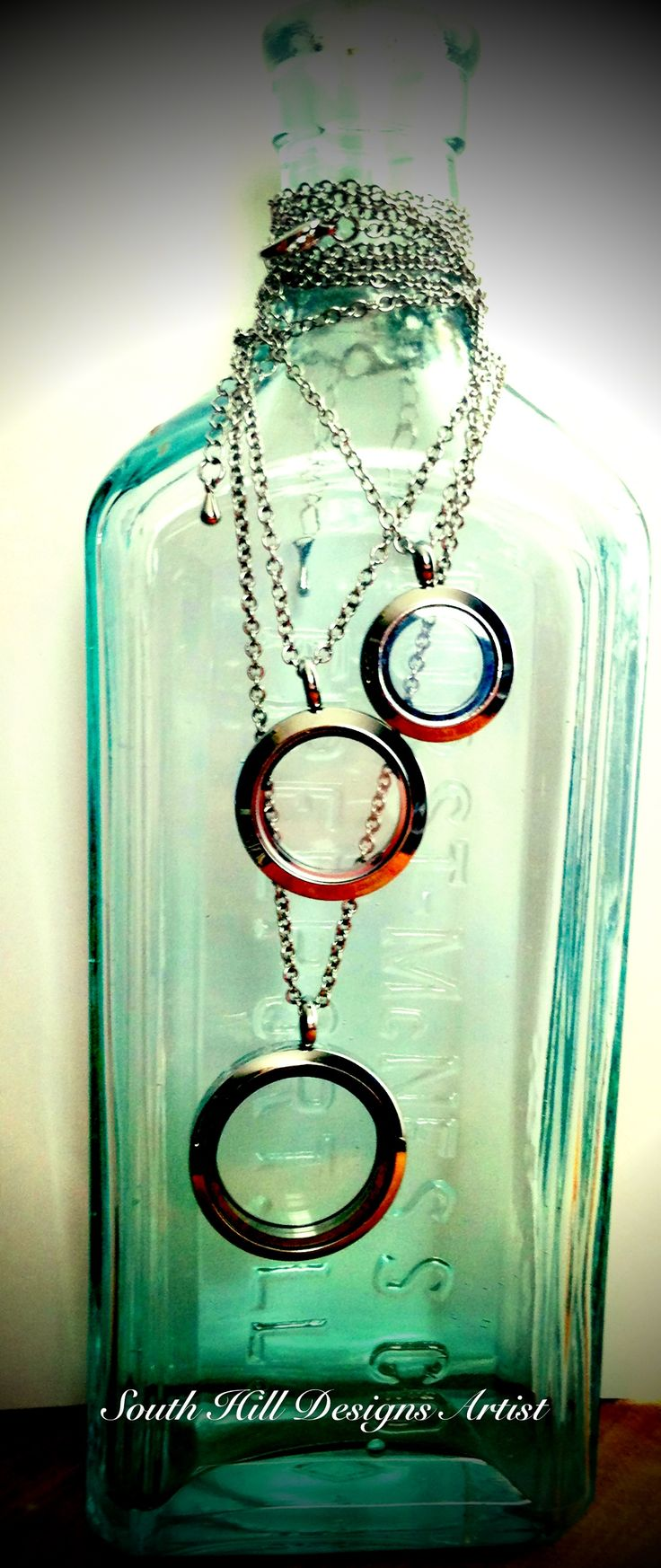 Large, Medium and Mini Silver Lockets South Hill Designs http://www.southhilldesigns.com/acharmedlife http//www.facebook.com/erinscharmedlife