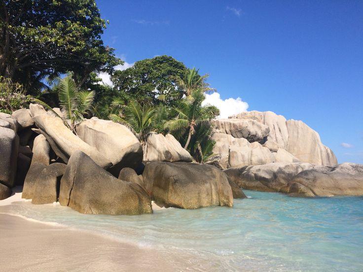 Seychellen Strand Coco Island