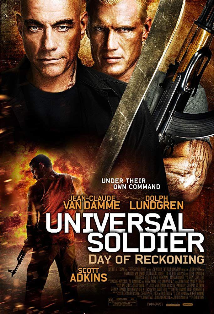 Scott Adkins Personally Ranks His Favorite Films Ever Number 4 Universal Soldier Day Of Reckoning Soldado Universal Capas De Filmes Cartazes De Cinema