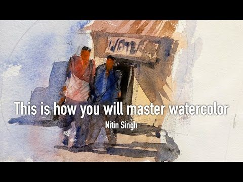 Watercolor Lesson to Improve your Painting and confidence, tips and techniques - YouTube