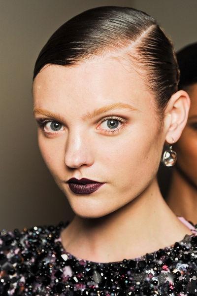 Aubergine Lipstick <3 F/M 2012/13 - GLAMOUR