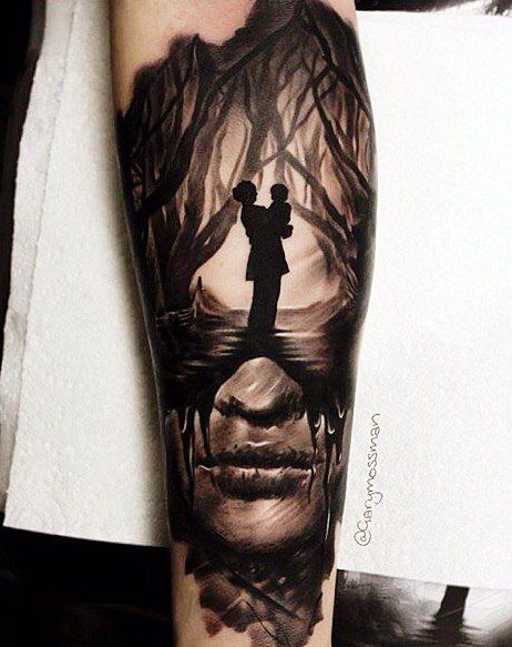 25 best ideas about inked magazine on pinterest mens - Wicked 3d tattoos ...