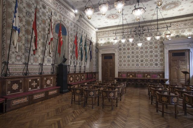 palazzo malinverni legnano sala degli stemmi - Cerca con Google