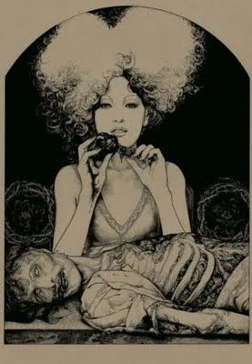 """An inofficial illustrationfor """"Ciprian´s Tale"""" from E. T. A. Hoffmann´s novel by Vania Zouravliov"""