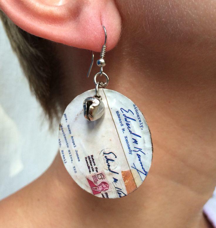 Earring postal $ 35,00 peca unica