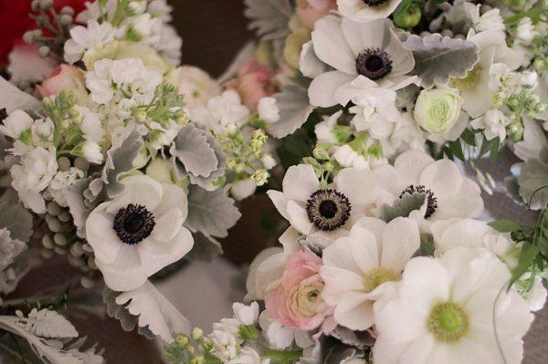 Anemone Arrangements, Wedding Flowers Photos by kat flower - Image 11 of 21