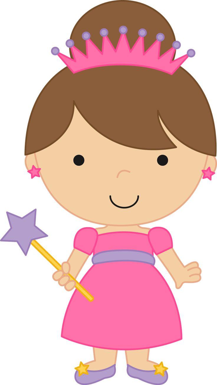 Princesas e Príncipes - Fairytale Princess Clipart 03.png - Minus