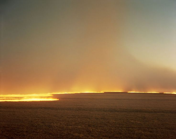 "Richard Misrach ""Desert Fire #249"" 1985 from Desert Cantos © Richard Misrach, c/o Fraenkel Gallery (San Francisco)"