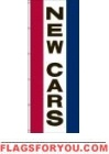 New Cars Vertical Message Panel, High Wind US Made 3' x 10'