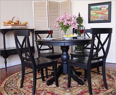 black kitchen tables sets - Black Kitchen Tables